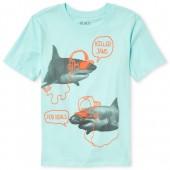 Boys Short Sleeve 'Killer Jams' Shark Graphic Tee