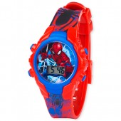 Boys Spiderman Light Up Digital Watch