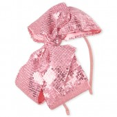 Toddler Girls Sequin Bow Headband