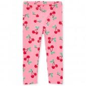 Toddler Girls Cherry Print Leggings