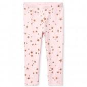 Toddler Girls Glitter Star Print Leggings