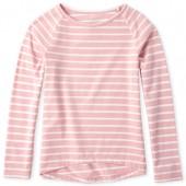 Girls Long Sleeve Striped Layering Tee