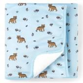 Baby Boys Bear Friends Cozy Blanket