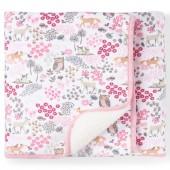 Baby Girls Sweet Deer Cozy Blanket