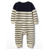 Stripe Garter One-Piece