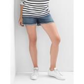 Maternity inset panel summer shorts