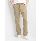 Linen Khakis in Slim Fit