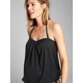 Maternity Drawstring Swim Top