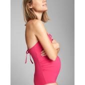 Maternity Tie-Back One-Piece Suit
