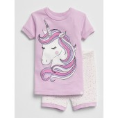 Unicorn Short PJ Set