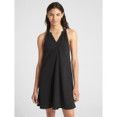 Sleeveless Crinkle Dress Cover-Up