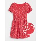 Knot-Sleeve T-Shirt Dress