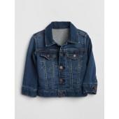 Icon Jersey-Lined Denim Jacket