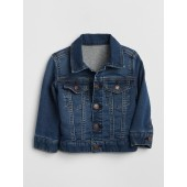 Icon Jersey-Lined Denim Jacket