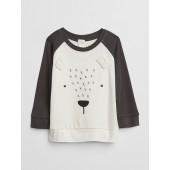 Organic Bear Raglan T-Shirt