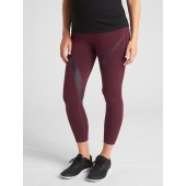 Maternity GapFit Eclipse GFast Full Panel 7/8 Leggings