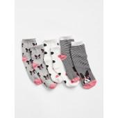 Frenchie Crew Socks (3-Pack)
