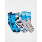 Shark Crew Socks (3-Pack)