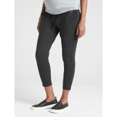 Maternity GapFit Drawstring Pants in Brushed Jersey