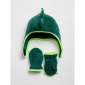 Fleece Trapper Hat Set