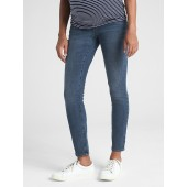 Maternity Soft Wear Full Panel True Skinny Jeans