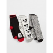 GapKids &#124 Disney Mickey Mouse Crew Socks (3-Pack)