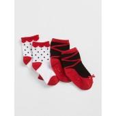 Ballet Slipper Socks (2-Pack)