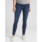Maternity Soft Wear Comfort Panel True Skinny Jeans