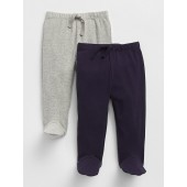 First Favorite Footed Pull-On Pants (2-Pack)