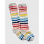 Crazy Stripe Knee-High Socks