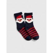 Cozy Holiday Graphic Socks