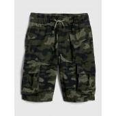 Print Cargo Shorts