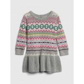 Fair Isle Peplum Sweater