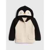 Penguin Garter Hoodie Sweater