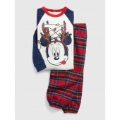 babyGap &#124 Disney Mickey Mouse Flannel PJ Set