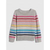 Crazy Stripe Pullover Sweater