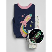 Rocket Glow-in-the-Dark PJ Set