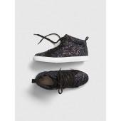 Glitter Hi-Top Sneakers