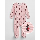 babyGap &#124 Disney Minnie Mouse Footed One-Piece