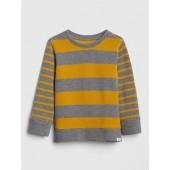 Stripe Long Sleeve Sweatshirt