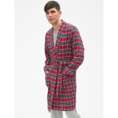Plaid Flannel Robe
