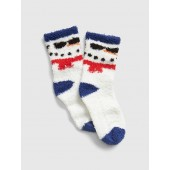 Cozy Holiday Graphic Socks