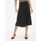 Midi Circle Skirt in Ponte
