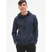 GapFit All-Elements Fleece Full-Zip Hoodie