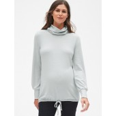 Maternity Softspun Long Sleeve Cowl Neck Top