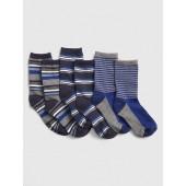 Stripe Crew Socks (3-Pack)