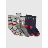 Llama Crew Socks (3-Pack)