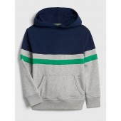 Colorblock Pullover Hoodie Sweatshirt