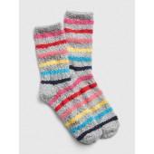 Cozy Crazy Stripe Socks