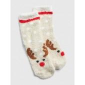 Cozy Reindeer Socks